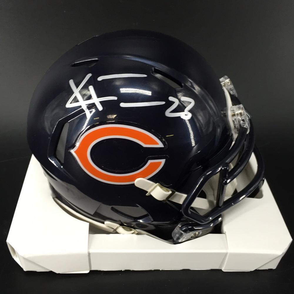 NFL - Bears Kyle Fuller Signed Mini Helmet