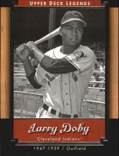 Photo of 2001 Upper Deck Legends #12 Larry Doby