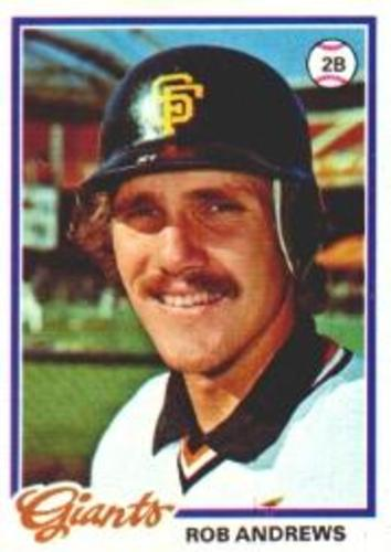 Photo of 1978 Topps #461 Rob Andrews DP