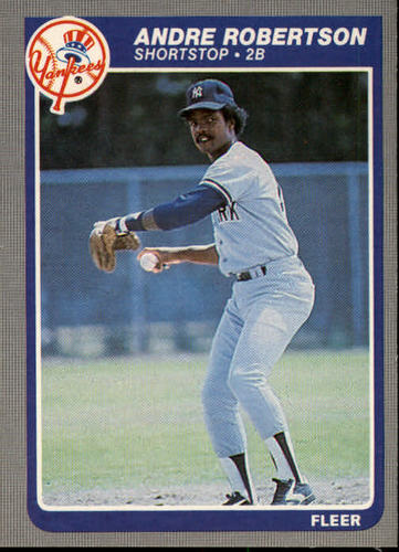 Photo of 1985 Fleer #144 Andre Robertson