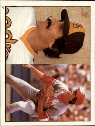 Photo of 1981 Topps Stickers #31 Rollie Fingers/Tom Hume