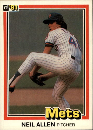 Photo of 1981 Donruss #276 Neil Allen