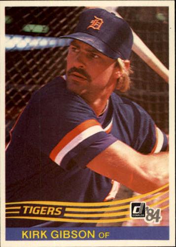 Photo of 1984 Donruss #593 Kirk Gibson
