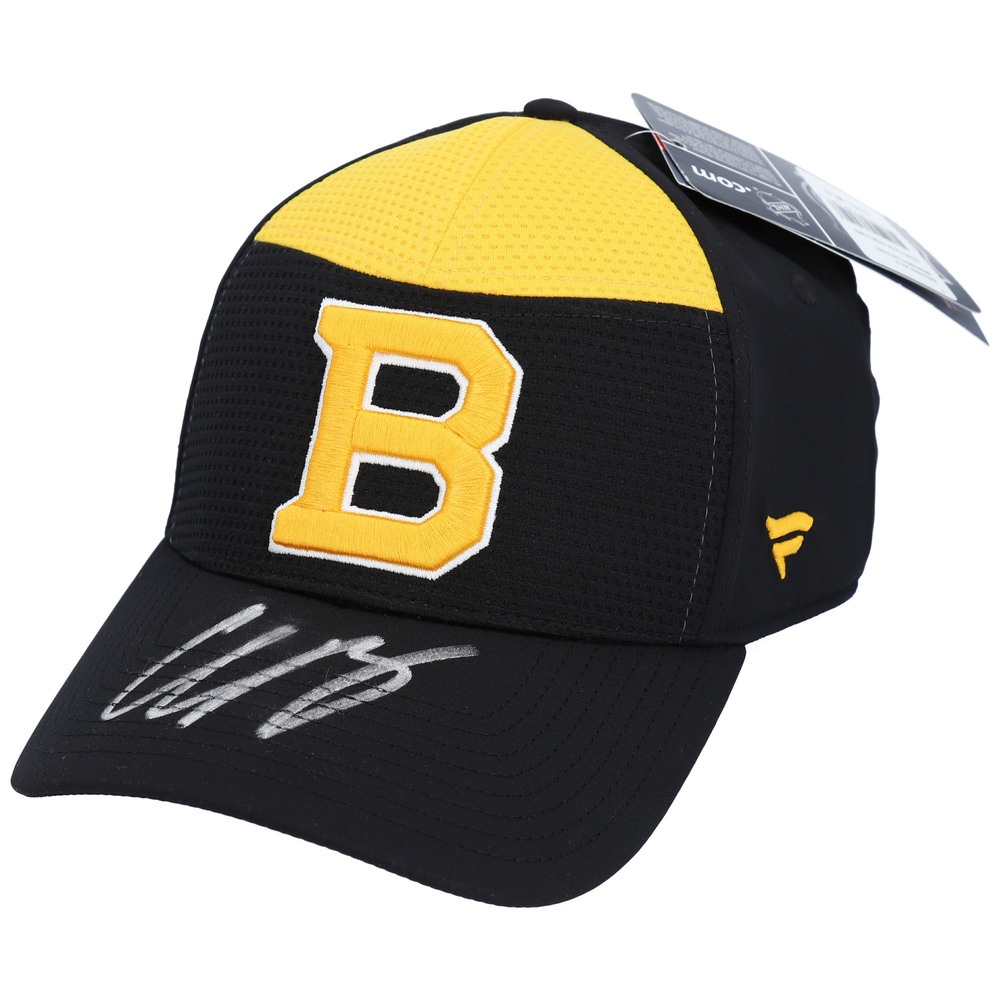 Charlie McAvoy Boston Bruins Autographed Alternate Logo Cap - NHL Auctions Exclusive