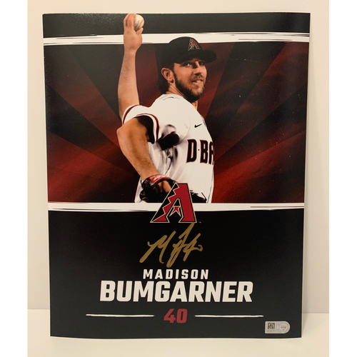 Photo of Madison Bumgarner Autographed 8x10 Photo