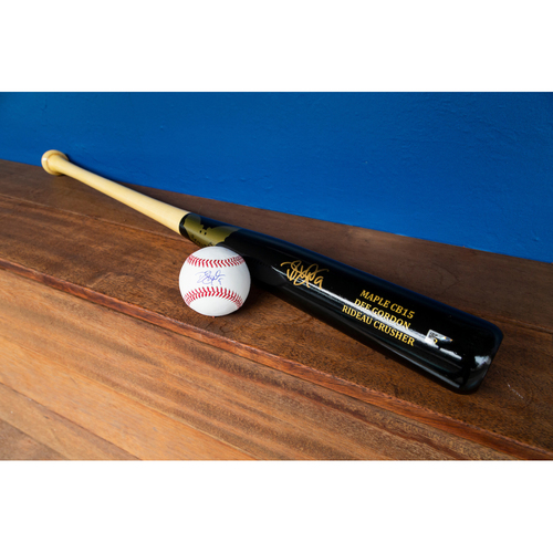 Photo of Dee Strange-Gordon Autographed Bat & Autographed Ball