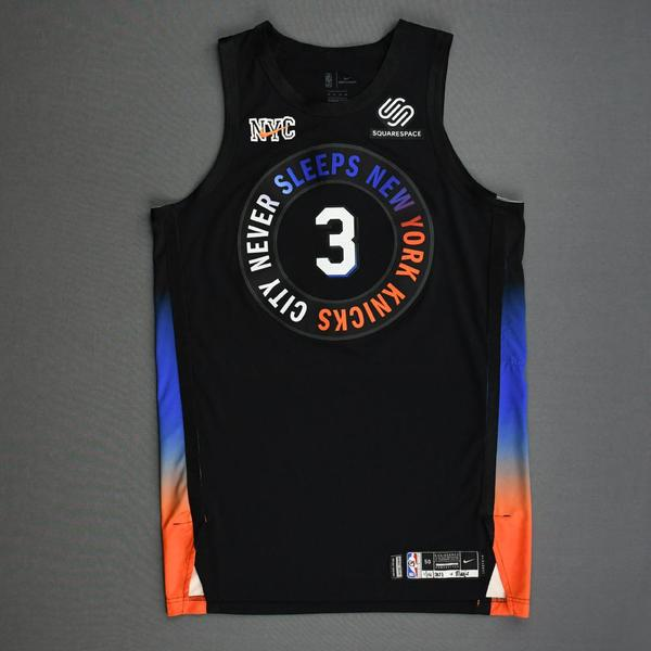 Image of Nerlens Noel - New York Knicks - Game-Worn City Edition Jersey - 2020-21 NBA Season