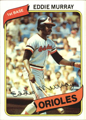 Photo of 1980 Topps #160 Eddie Murray