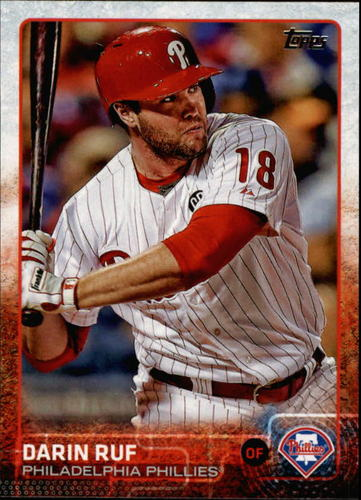 Photo of 2015 Topps #662 Darin Ruf