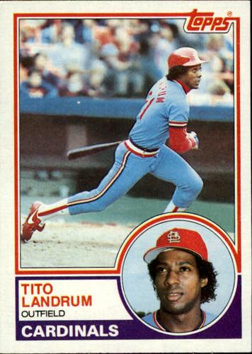 Photo of 1983 Topps #337 Tito Landrum