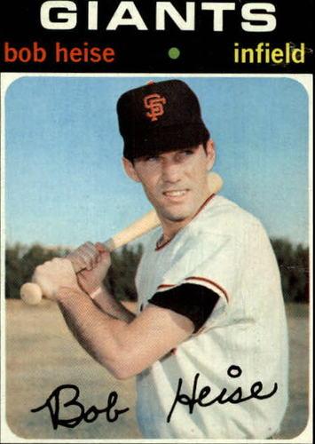 Photo of 1971 Topps #691 Bobby Heise
