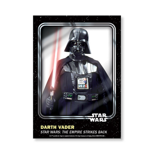 Darth Vader 2016 Star Wars Card Trader Base Poster - # to 99
