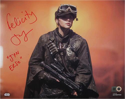 Felicity Jones as Jyn Erso Autographed Inscribed