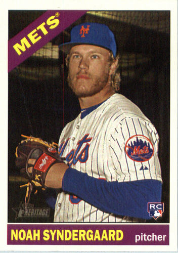 Photo of 2015 Topps Heritage #618A Noah Syndergaard  Rookie Card