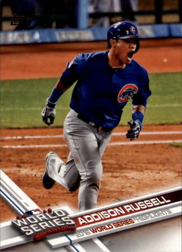 Photo of 2017 Topps #78 Addison Russell