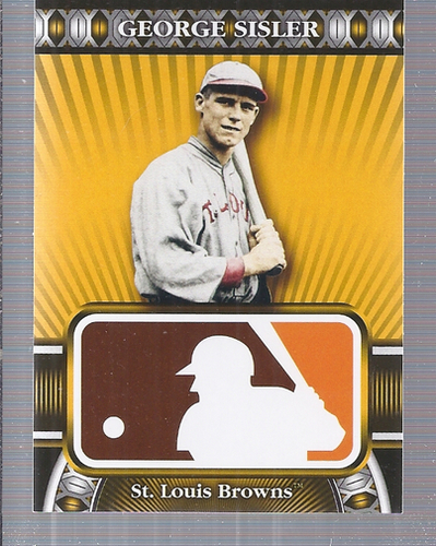 Photo of 2010 Topps Logoman HTA #6 George Sisler