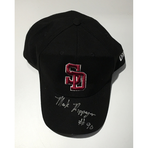 Photo of MiLB Umpire Mark Ripperger Autographed, Game-Used Adjustable Stoneman Douglas Cap - NOT MLB Authenticated
