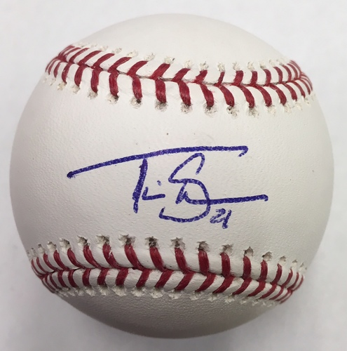 Photo of Travis Shaw Autographed Baseball
