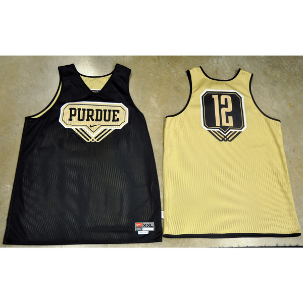 Photo of Nike Men's Basketball Official Practice Jersey // Triple Line // No. 12 // Size XL +4 length