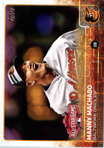 Photo of 2015 Topps Update #US17 Manny Machado