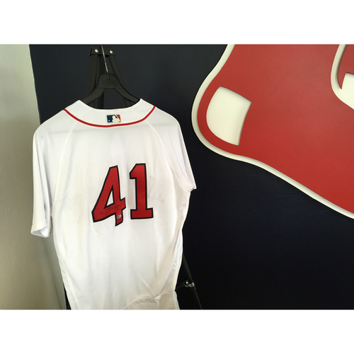 Photo of Autographed Chris Sale Jersey