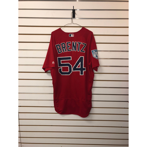 Photo of Bryce Brentz Team-Issued 2019 Spring Training Jersey