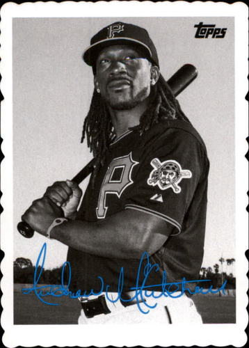 Photo of 2014 Topps Archives '69 Deckle Minis #AM Andrew McCutchen