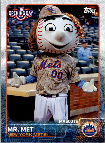 Photo of 2015 Topps Opening Day Mascots #M17 Mr. Met