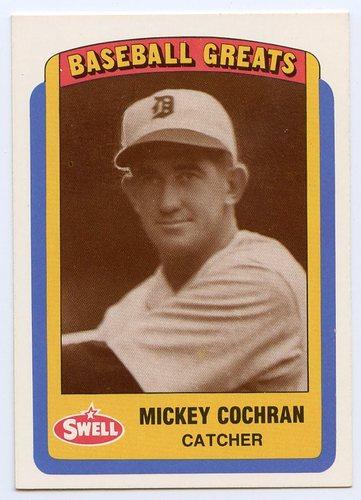 Photo of 1990 Swell Baseball Greats #3 Mickey Cochrane