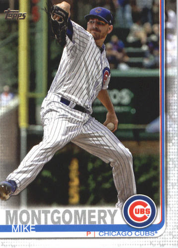 Photo of 2019 Topps #502 Mike Montgomery