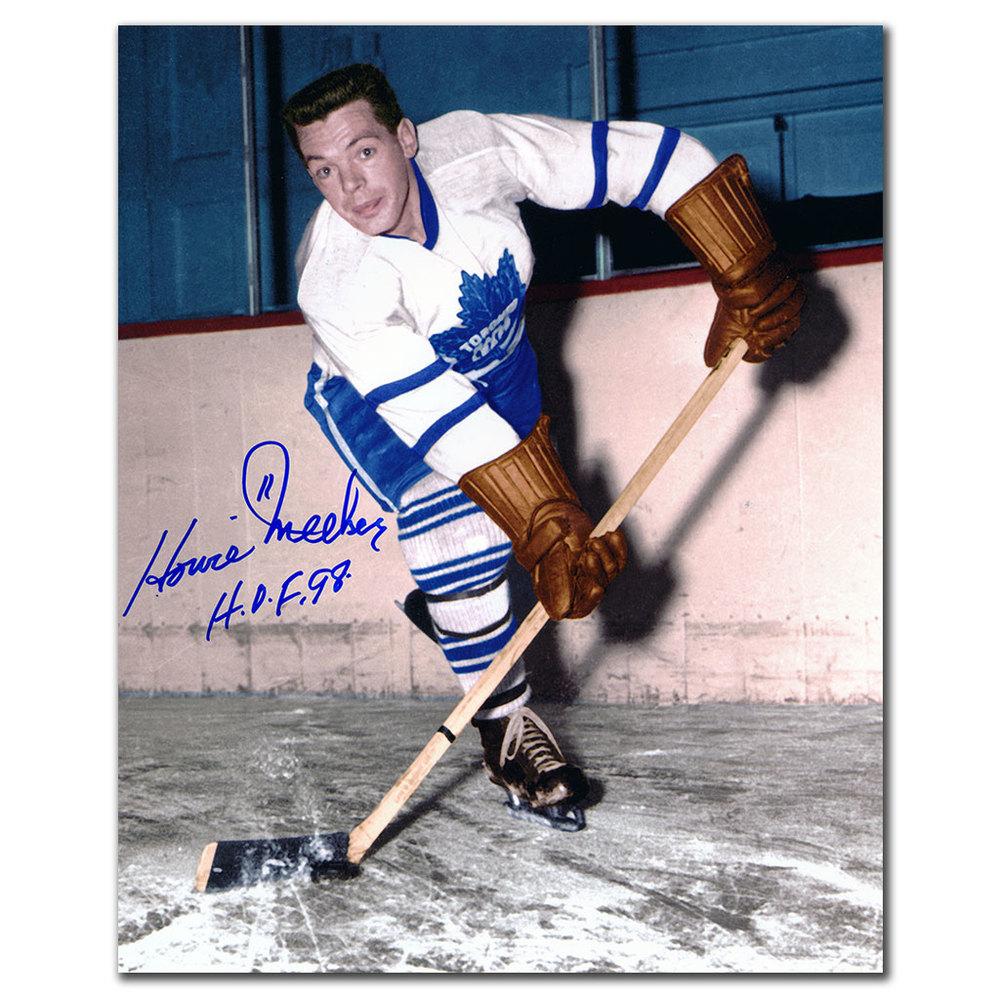 Howie Meeker Toronto Maple Leafs Autographed 8x10 Photo