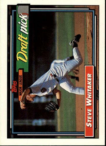 Photo of 1992 Topps #369 Steve Whitaker RC