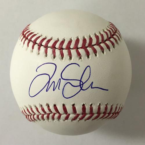 Tim Salmon Autographed Baseball