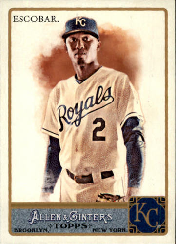 Photo of 2011 Topps Allen and Ginter #58 Alcides Escobar