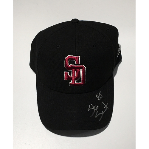 Photo of MiLB Umpire Stu Scheurwater Autographed, Game-Used Adjustable Stoneman Douglas Cap - NOT MLB Authenticated