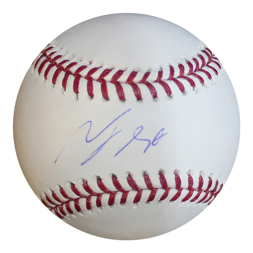 Photo of Autographed Baseball: Terrance Gore