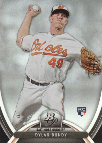 Photo of 2013 Bowman Platinum #99 Dylan Bundy Rookie Card