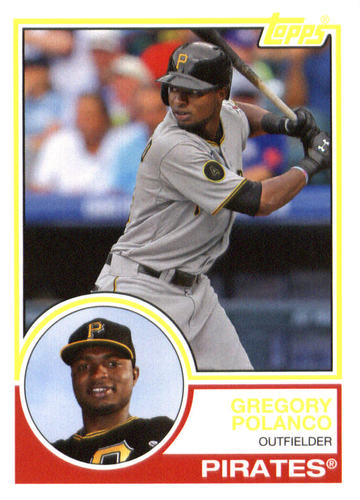 Photo of 2015 Topps Archives #288 Gregory Polanco
