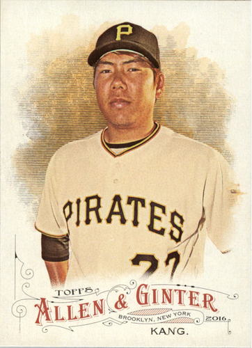Photo of 2016 Topps Allen and Ginter #153 Jung Ho Kang