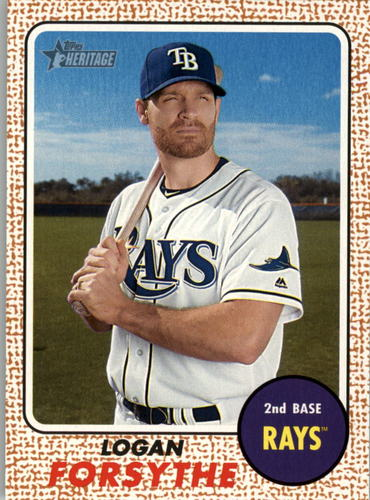 Photo of 2017 Topps Heritage #14 Logan Forsythe
