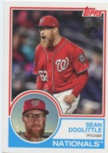 Photo of 2018 Topps Update '83 Topps #8334 Sean Doolittle