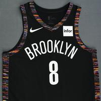 Spencer Dinwiddie - Brooklyn Nets - Game-Worn City Edition Jersey - 2018-19 Season