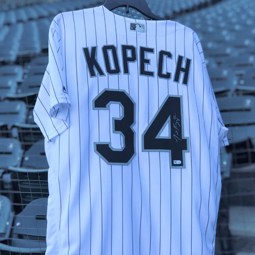 Photo of Kopech's Big Kut: Autographed Michael Kopech Jersey - Choose your Size!
