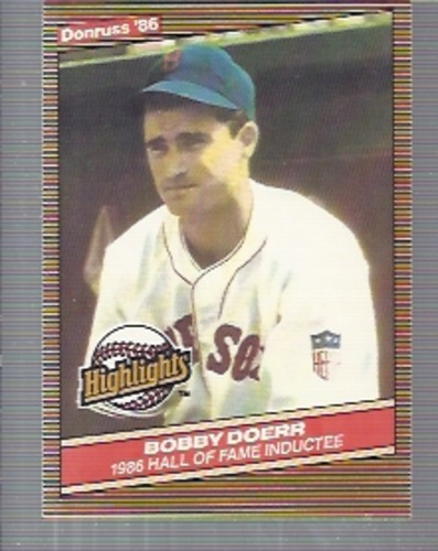 Photo of 1986 Donruss Highlights #32 Bobby Doerr