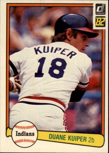 Photo of 1982 Donruss #198 Duane Kuiper