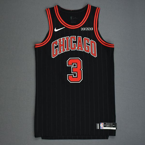 Image of Shaquille Harrison - Chicago Bulls - Game-Worn Statement Edition Jersey - Dressed, Did Not Play - 2019-20 Season