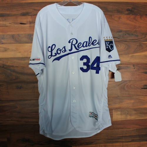 Photo of Team-Issued Jersey: Trevor Oaks (Size 50)