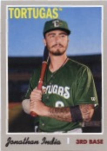 Photo of 2019 Topps Heritage Minors #204 Jonathan India SP