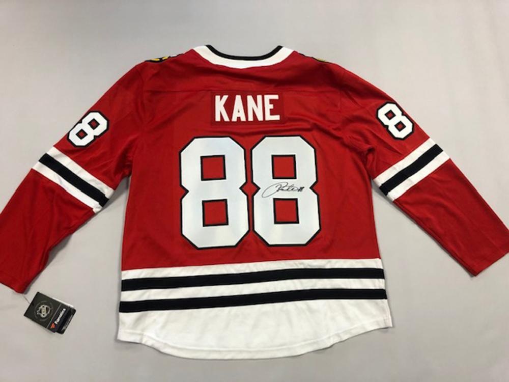Patrick Kane Autographed Blackhawks Jersey