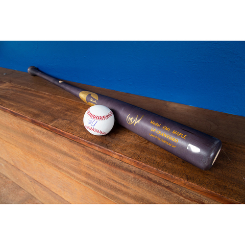 Photo of JP Crawford Autographed Bat & Autographed Ball